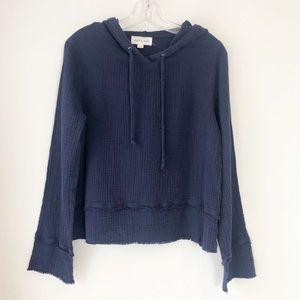 ANTHROPOLOGIE CLOTH & STONE HOODIE M